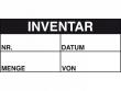 1: Inventar-Etiketten (Inventar)