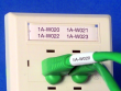 1: B-124 (Papier-Etiketten für die Klemmblockmarkierung)