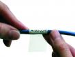 8: Selbstlaminierendes Vinyletikette zur Draht- und Kabelkennzeichnung (Anwendungsschritt 2)