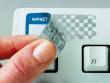 5: Fälschungssichere, metallisierte Polyester-Etiketten, welche nach beim Ablösen ein Schachbrettmuster hinerlassen (B-438)