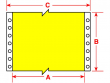 2: B-637 (selbstverlöschende Polyvinylfluorid-Etiketten)