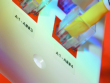 2: B-712 - Transparente Polyester-Etiketten für rauhe Oberflächen