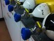 7: Versiegelung einer Atemluftflasche mit OWO 6-60