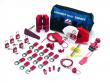7: Lockout-Set für Ventile und elektrische Anlagen