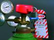 11: Gaszylinder-Verriegelung
