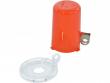2: Sicherheitsabdeckung für Drucktasten (klein mit hoher Abdeckung)