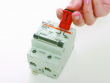 1: POW (Pin-Out Wide) - Mini-Verriegelungssystem für Schutzschilder