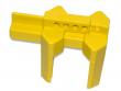 10: Kugelhahn-Absperrung (gelb)
