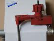 5: Universal-Ventilabsperrung mit Blockierarm und Schlitten