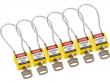 5: Kompakte Sicherheitsschlösser mit Kabelbügel (gelb)