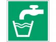 24: Trinkwasser (Rettungsschild / Erste-Hilfe-Schild gemäß ISO 7010, ASR A1.3)