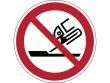 30: Verbotsschild - Nicht zulässig für Seitenschleifen (gemäß DIN EN ISO 7010)