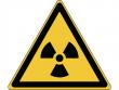 3: Warnschild - Warnung vor radioaktiven Stoffen oder ionisierender Strahlung (gemäß DIN EN ISO 7010, ASR A1.3)