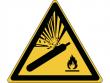 29: Warnschild - Warnung vor Gasflaschen (gemäß DIN EN ISO 7010, ASR A1.3)